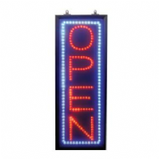 Portrait Open LED Sign